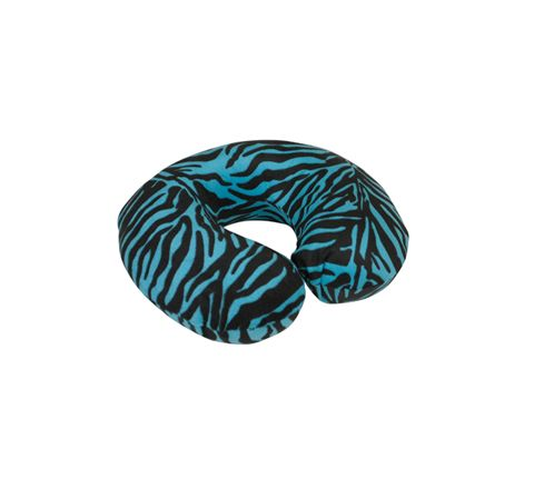 Spare Cover for Blue Memory Foam Neck Cushion (Colour Blue Tiger)