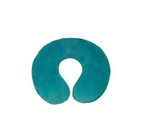 Spare Cover for Blue Memory Foam Neck Cushion (Colour Teal Green)