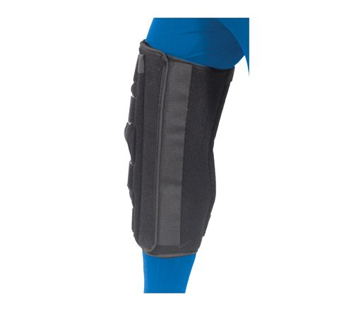 Aidapt Knee Immobilizer (Size SMALL Product Dimensions (mm) 350X340X20)