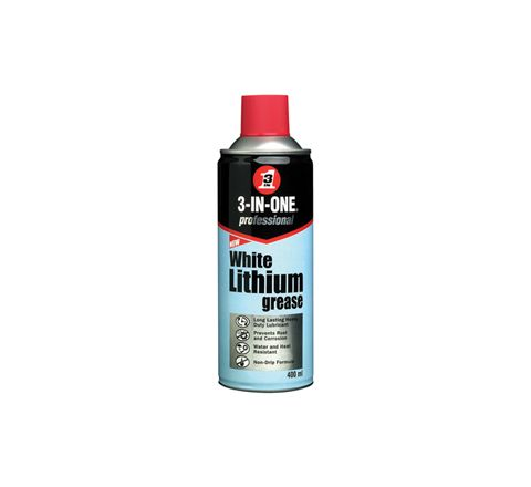 3 in One 400ml White Lithium Grease
