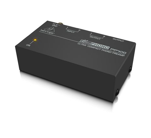 Behringer PP400 Microphono Phono Preamp