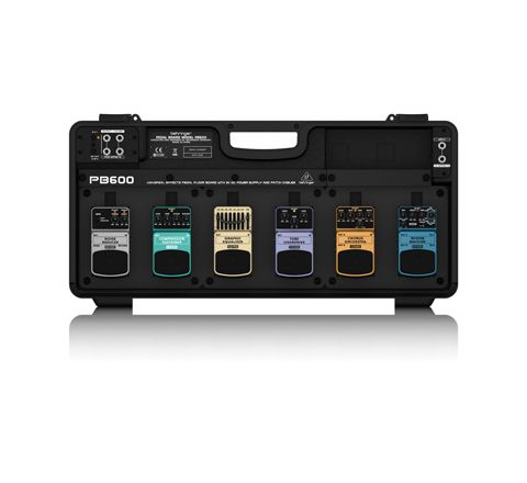 Behringer PB600 Guitar Effects Pedal Board