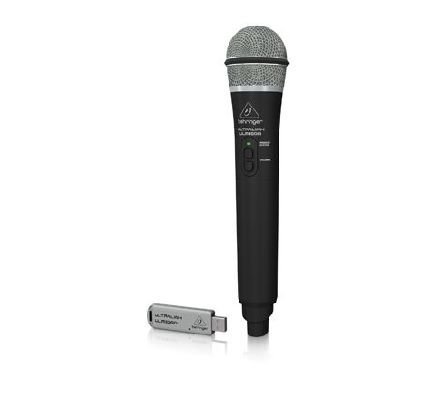 Behringer ULM300USB High Performance 2.4 GHz Digital Wireless System with Handheld Microphone and Dual Mode USB Receiver