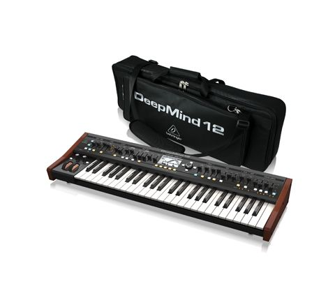 Behringer DEEPMIND 12 and DEEPMIND 12-TB Water Resistant Transport Bag