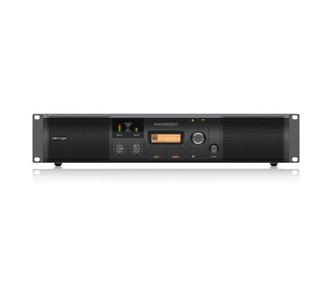 Behringer NX Range of Class D Power Amplifiers with DSP Control (Model NX1000D Power (W) 1000)