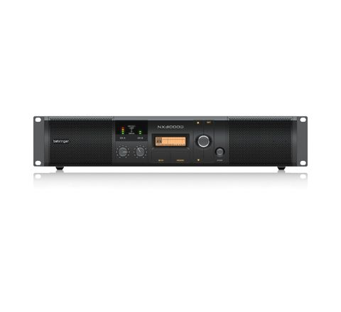 Behringer NX Range of Class D Power Amplifiers with DSP Control (Model NX3000D Power (W) 3000)