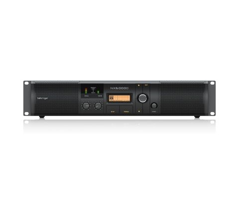 Behringer NX Range of Class D Power Amplifiers with DSP Control (Model NX6000D Power (W) 6000)