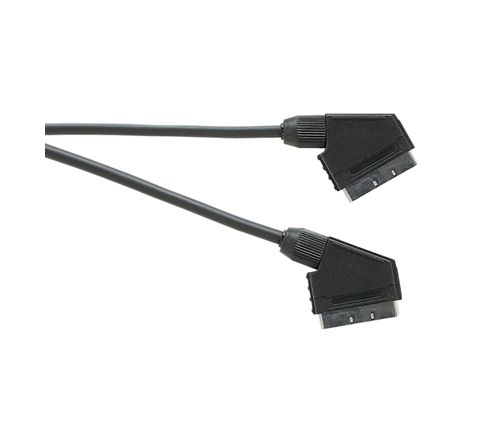 Standard Scart Plug to Scart Plug  TV and Video Lead All Pins Connected (Lead Length (m) 1.5)