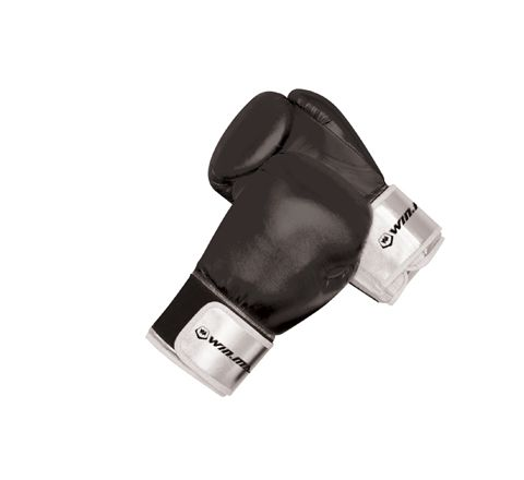 10 oz Black Adult Boxing Gloves